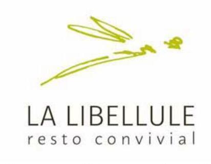 Logo La libellule resto convivial