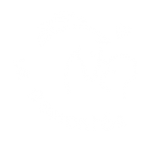 Logo blanc du Centre d'équithérapie La Remontée